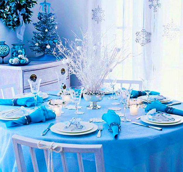 Blue And White Christmas Colors, Elegant Cool Color