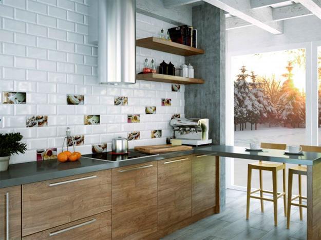 Modern Kitchen Tiles Creativity And Originality In Kitchen Design