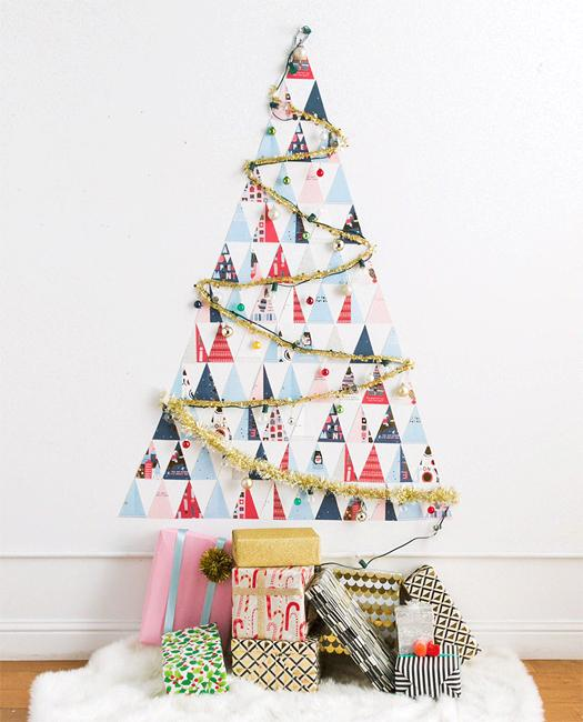 creative ideas recycling holiday cards for wall christmas