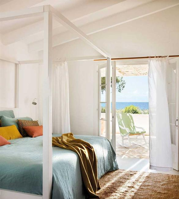 Beautiful Bedroom Designs, Terraces Connecting The Rooms
