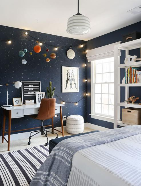 planet models for kids room decorating
