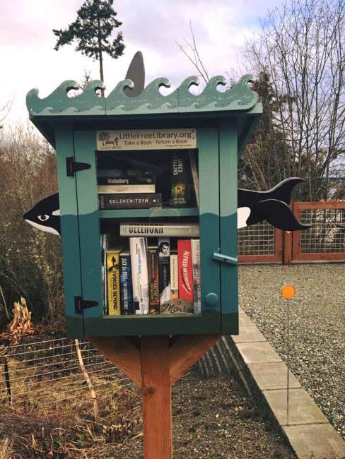 Beautiful Small Home Libraries: Cute Little Free Library Design Ideas, Recycling For Gifts