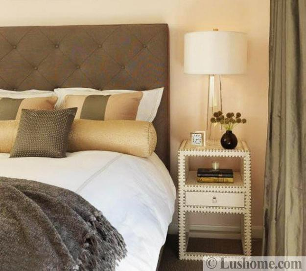 light yellow and gray bedroom colors