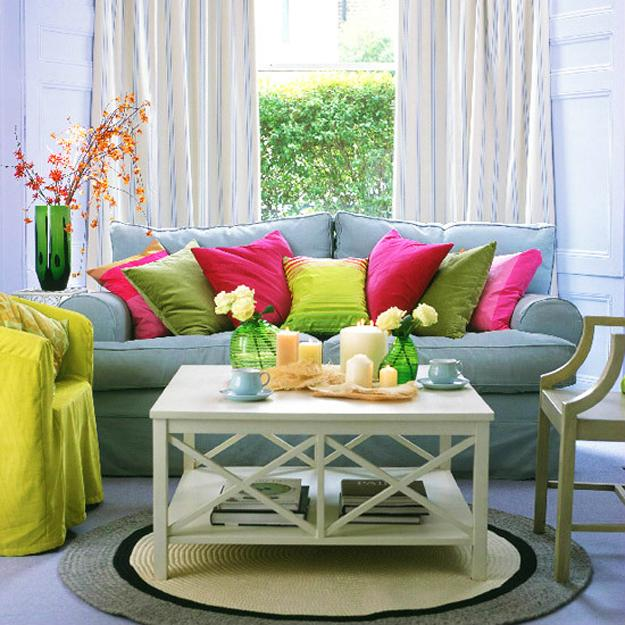 Bright Room: Bright Accents In Room Decorating, Secrets Of Creating