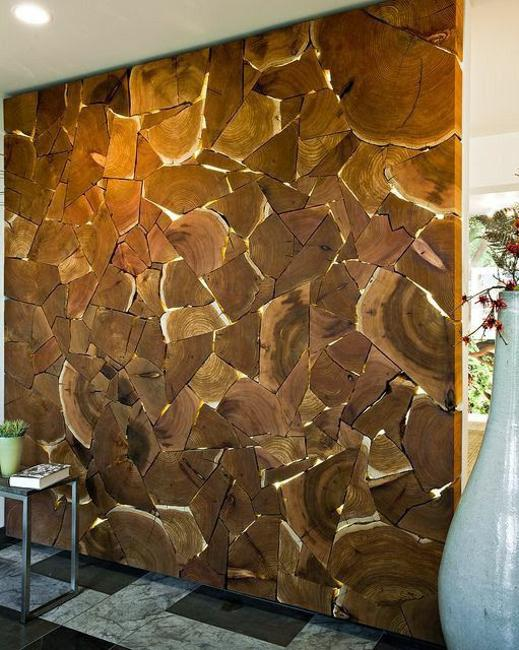 wood texture wall decoration