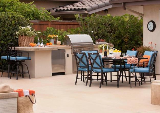 Summer Kitchen Designs Bbq And Dining Areas