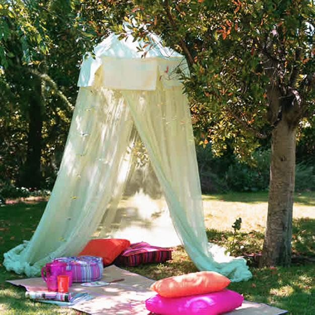 Colorful Summer Party Ideas, Picnic Decorations