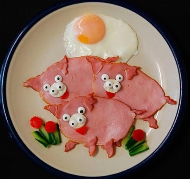 ham piglets
