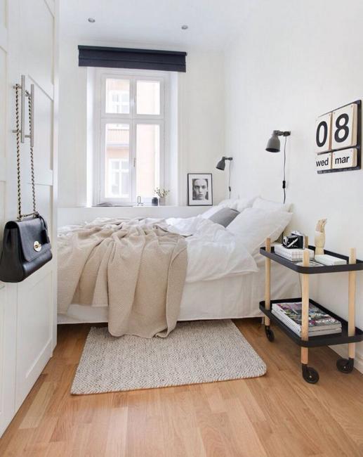 Narrow Or Small Rooms Bedroom Design Ideas