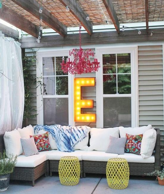 Summer Home Makeover Easy Cheap Ideas: 22 Outdoor Home Decorating Ideas To Create Beautiful