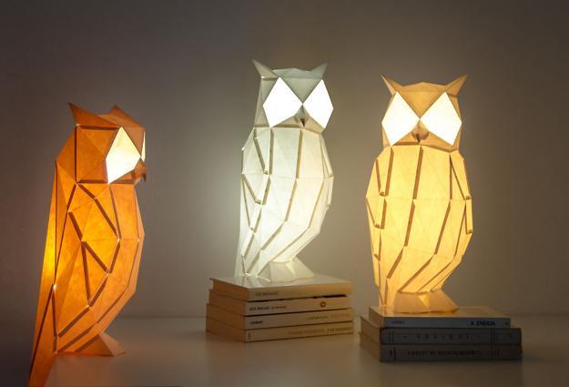 lanterns owls