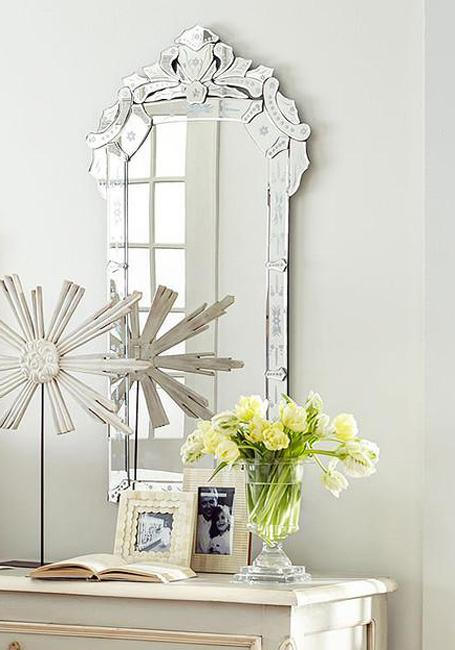 Venetian Style Mirrors, Serene Luxury Ideas for Bathroom ...