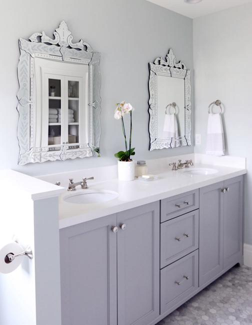 Venetian Style Mirrors Serene Luxury Ideas For Bathroom Design