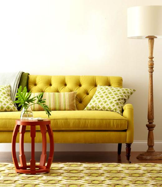 Colorful Room Decorating, Warm Interior Colors Inspired By
