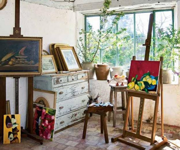art studio furniture vintage style