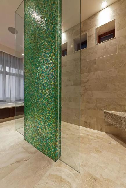 Modern Bathroom Tile Designs, Colorful Ideas Blending ...