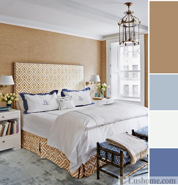 Lushome & Modern Bedroom Color Schemes 25 Ready To Use Color Design Ideas