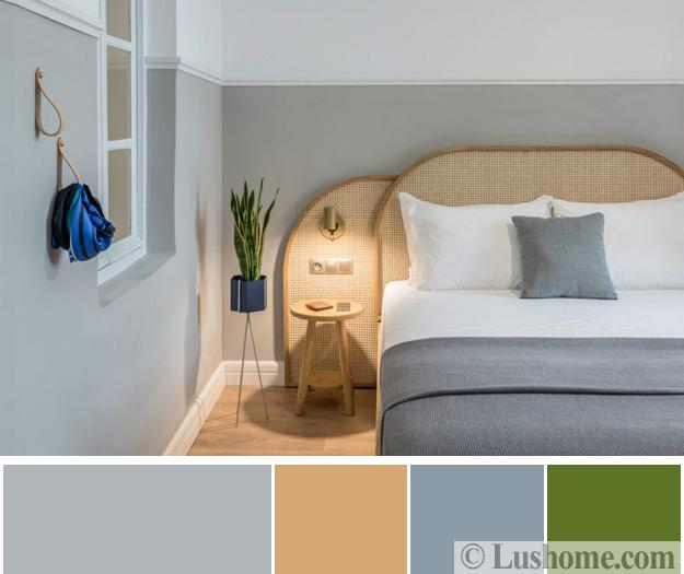 35 Spectacular Neutral Bedroom Schemes For Relaxation: Modern Bedroom Color Schemes, 25 Ready To Use Color Design