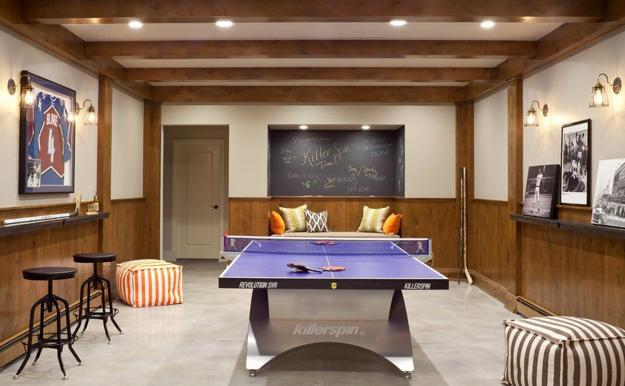How To Create Functional Game Room Design Modern Decorating Ideas