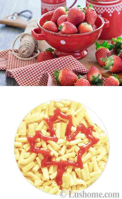 red food decoration