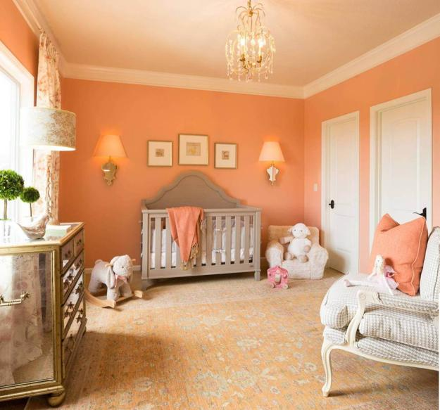Tender and Bright Orange Pink Color Shades Creating Warm ...