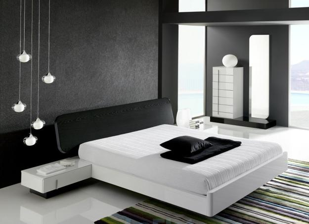 Dark Ceiling Designs In Modern Bedrooms
