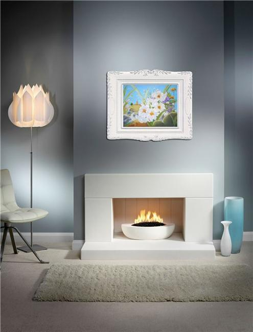 Decorative Matching Living Room: Modern Grayish Blue And Matching Color Combinations