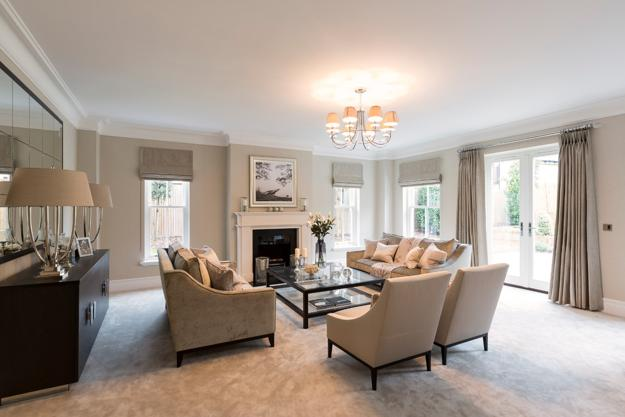 Colorful Decorating Ideas For Small Living Room: Modern Living Room Colors, Elegant Beige Pastels