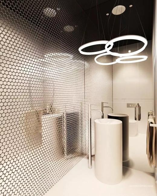 15 Home Decor Trends For 2020: Bright Mosaic Tile Designs, Modern Bathroom Design Trends 2020