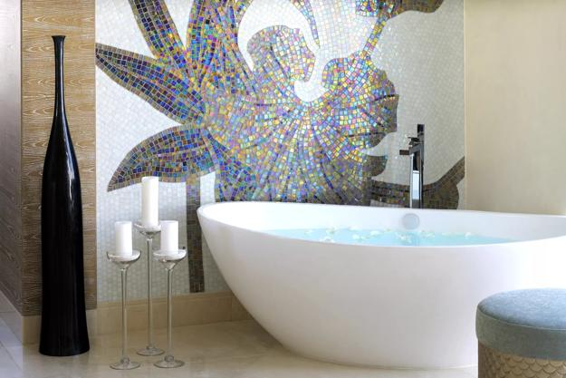 Bright Mosaic Tile Designs Modern Bathroom Design Trends 2020