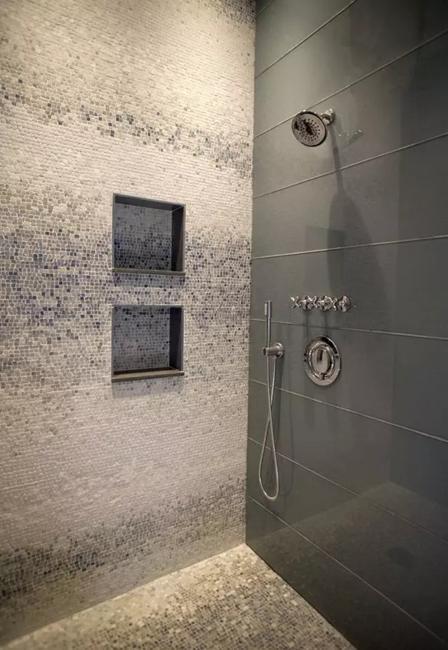 Bright Mosaic Tile Designs, Modern Bathroom Design Trends 2020