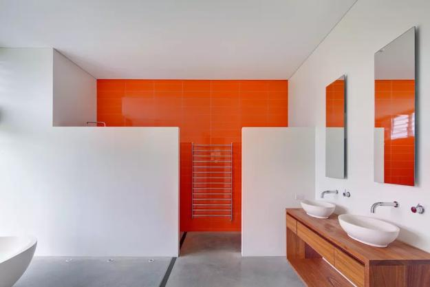 Modern Bathroom Design Trends 2020, Vibrant Colors of ...