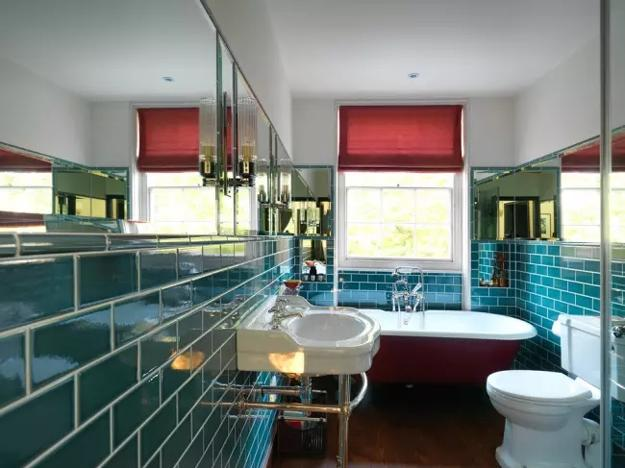 Modern Bathroom Design Trends 2020 Vibrant Colors Of Bathroom Tiles Fixtures And Accessories