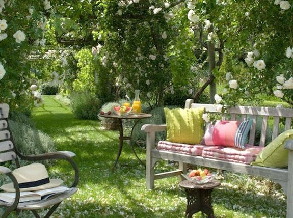 Outdoor Rooms On A Budget Small Spaces
