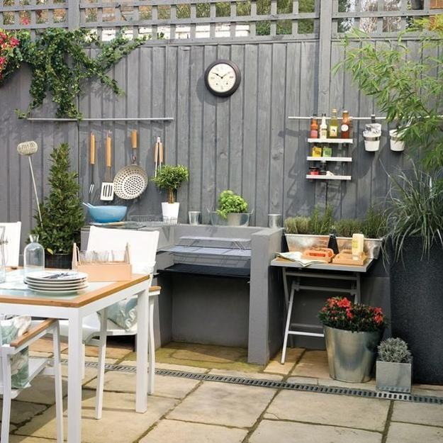 Beautiful Gorgeous Modern Garden Concept Idea With Bright: 35 Creative And Modern Ideas For Small Outdoor Spaces