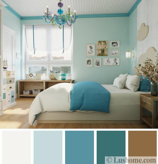 Modern Bedroom Color Schemes, 25 Ready To Use Color Design