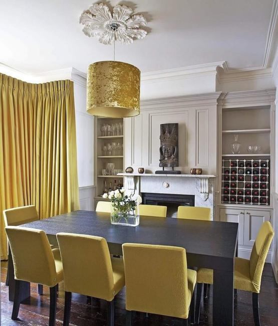 15 Interior Decorating Ideas Adding Bright Red Color To: Bright Yellow And White Decorating Ideas, Sunny Color