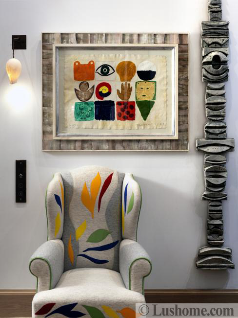 colorful wall decorations