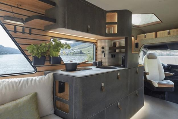 Concept Van Design Idea Adding Luxury To Future Camping