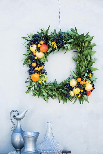 square wreath design