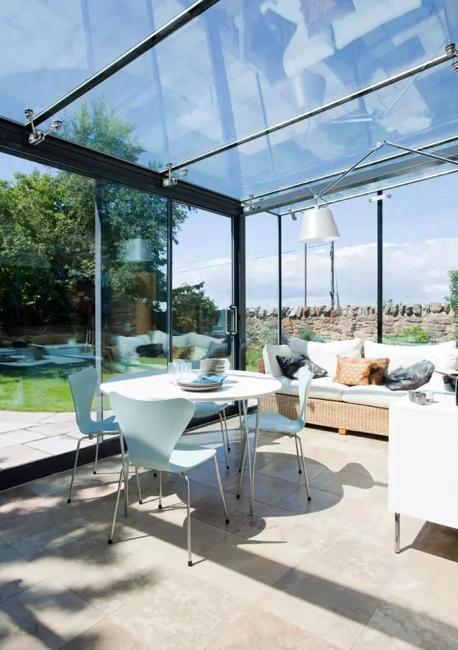 contemporary sunroom design