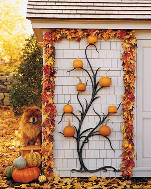 Autumn Yard Decorations: Spectacular Fall Decorations And Yard Installations