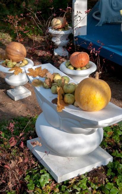 pumpkins installation