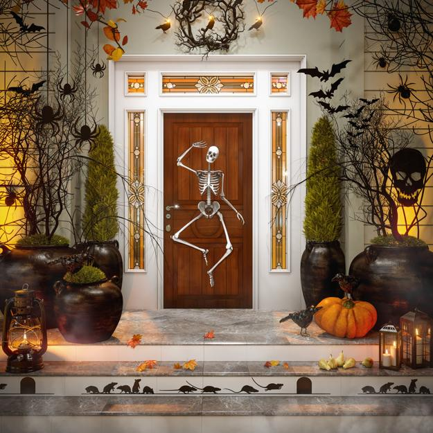 Halloween Ideas And Tips For Exciting Front Door And Yard
