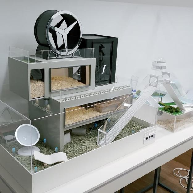Modern Homes For Hamsters, Luxury Pet Design By ZIT Studio