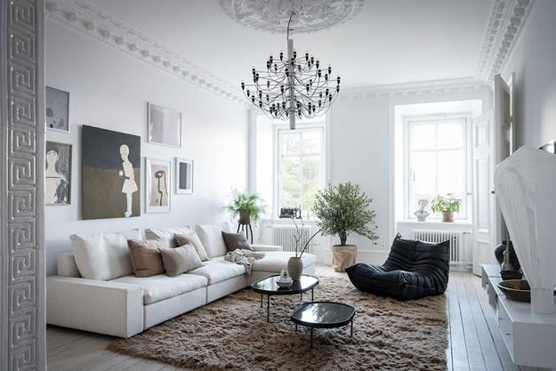 Modern Colors For Living Room Designs Offer Blends Of