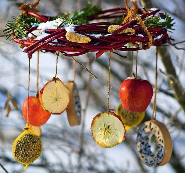 DIY Decorative Bird Feeders, Winter Decorating Ideas To