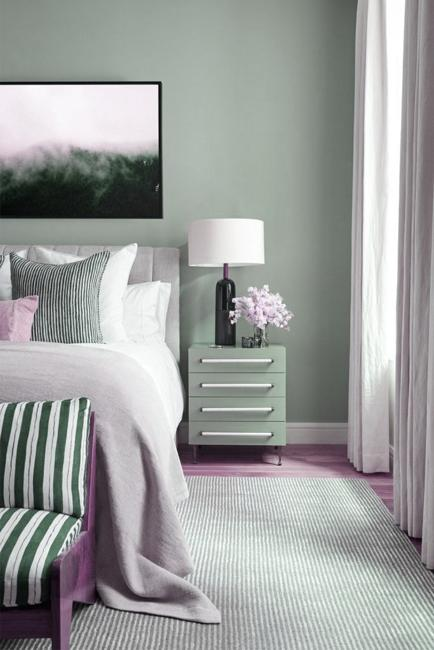 Modern Color Trends 2020 Tranquil Dawn Bluish Grayish Green