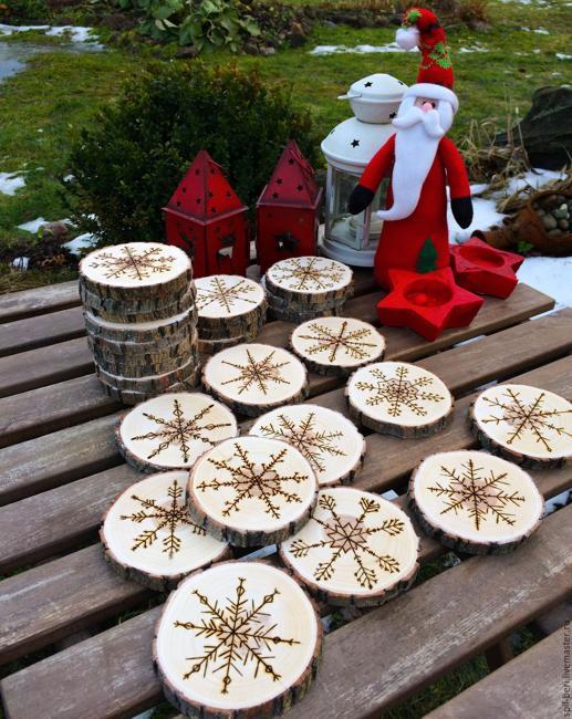 Beautiful Simplicity of Handmade Christmas Decorations, DIY ...