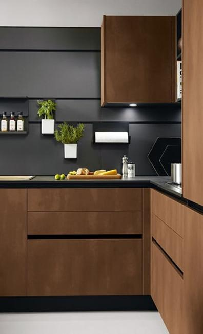Sleek Contemporary Kitchen Cabinets Minimalist Handles